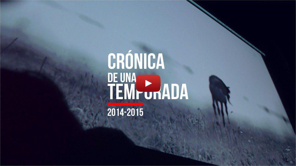 CARATULA you tube CRONICA TEMPORADA 2015 con Play