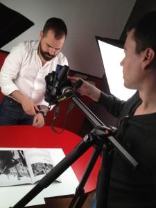 Grabaciones en video con Fran Padilla 2